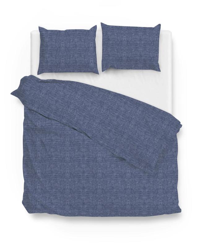 Zo! Home Dekbedovertrek Lino (Urban Blue) 240x200/220