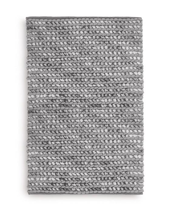 Heckett & Lane Badmat Mylene (light grey) 70x120
