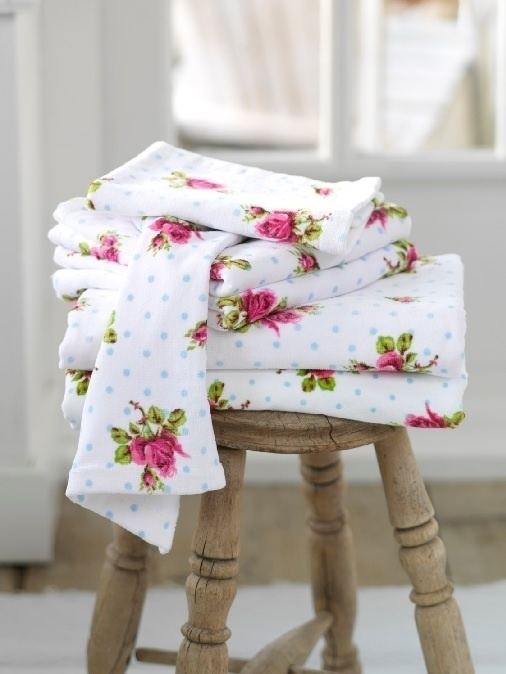 Pip Studio Badtextiel.Pip Studio Badtextiel Roses And Dots White Badtextiel