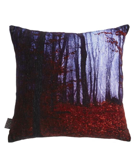 KAAT Amsterdam Sierkussen Redwood (red) 45x45