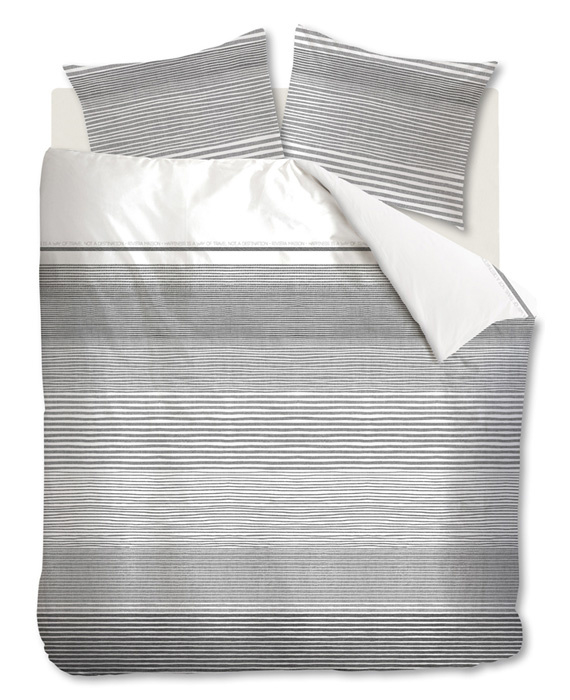 Riviera Maison Dekbedovertrek Destination (grey) 240x200/220