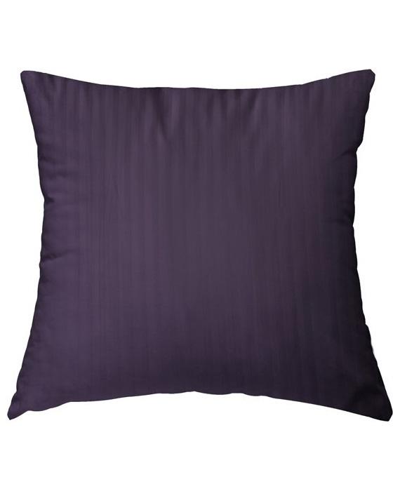 HnL Refined Kussensloop Satijn (vintage purple) 80x80