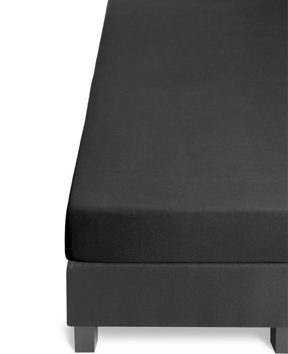 Beddinghouse Hoeslaken Jersey Lycra (black) 80/90x200/220