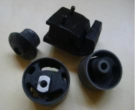 Motorsteun rubber set 4 delig  VW Golf 1 - Cabrio - Jetta 1 Caddy 1 Scirocco 1 en 2