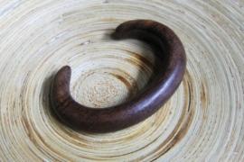 Armband van hout