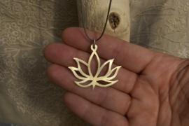 Lotus van messing