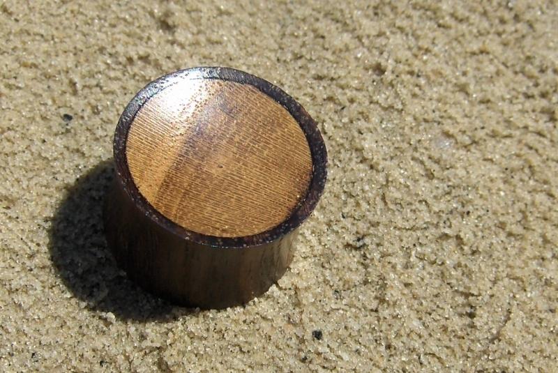 Plug hout, hol (per stuk)
