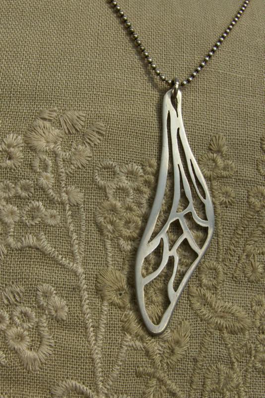 Vleugel van zilver.