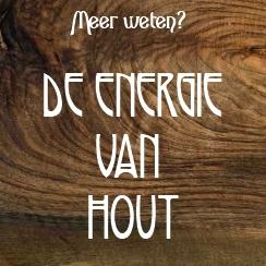 de energie van hout
