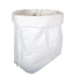 Washable paperbag XL WIT