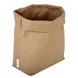 Washable paperbag large naturel