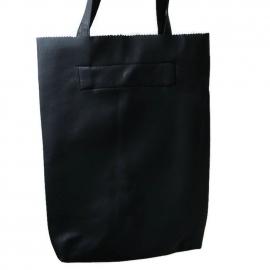 Shopper mat zwart