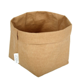 washable paperbag small naturel