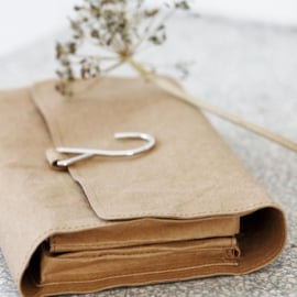 Toilet bag nomadic craft