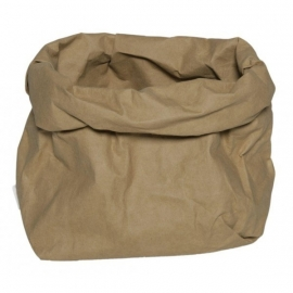 Washable paperbag medium naturel