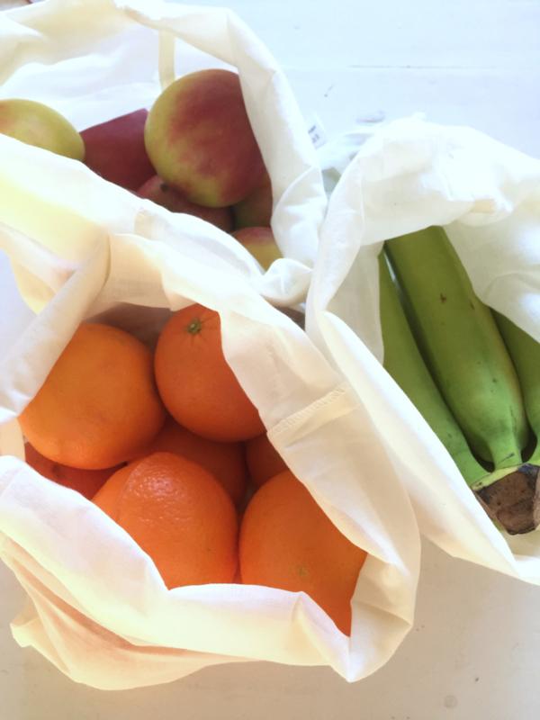 Groenten en fruit zak