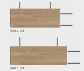 Eindtrede Wall met vloerbevestiging