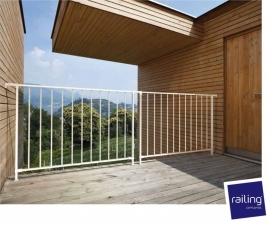 Balkonhekwerk Steel 10