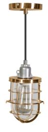 Industriële hanglamp h-104cm model Matino goud 1xE27 nr 05-HL4402-15