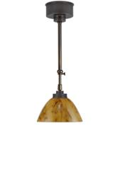 Schuifstang 2x50cm midden bruin donker gemarmerde calimero kap 20 nr 2Sb-195.20