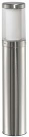 Buitenlamp staand serie Titano Led 10W RVS h75cm nr 10-33722LED