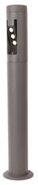 Buitenlamp staand rond serie Cylin h 85cm grafiet nr 31-3850