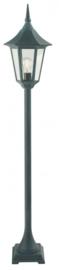Buitenlamp mast h-126 serie Tessaro ALU zwart nr: 3033