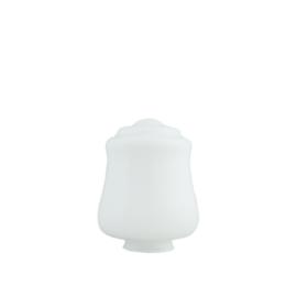 glazen bol model Pokal 16cm opaal wit d-16cm gr-85mm nr 456.00