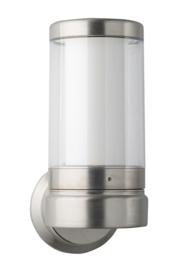 Buitenlamp wand serie Titano Led 10W RVS h35cm nr 10-33720LED