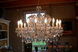 Boheems kristallen 18-lichts luchter nr 14 5180 018 0611