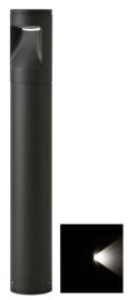 Buitenlamp mast Lako h-40 1 zijde licht LED 7W antraciet nr 409.040/1