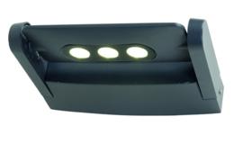 Buitenlamp wand langwerpig serie Cylin h 5cm grafiet nr 31-6144S1