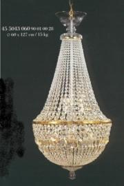 Grote Boheems kristallen zaklamp 9-lichts nr 46 5043 060 9001