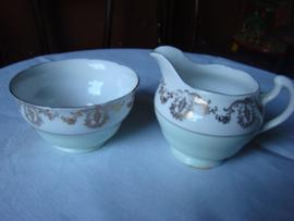 Porceleinen  roomstel Royal Vale