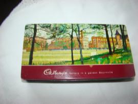 Chocolade blikje van Cadbury.