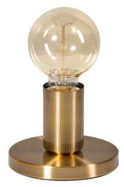 Tafellamp Base h12cm d9cm vintage goud nr 05-TL3243-02