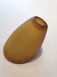 Glas halogeen klemveer model schepglas schepje amber nr: 500932
