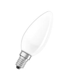 Dura kaarslamp 15W E14 opaal nr: 12-1D000034