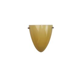Wandlamp druppel S. met ophanging champagne kap nr 2292.07 + h292.50