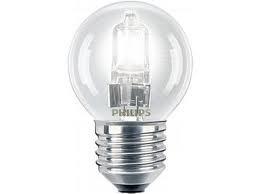 Dura kogellamp ES 18W E27 halogeen helder 230V nr: 12-01418