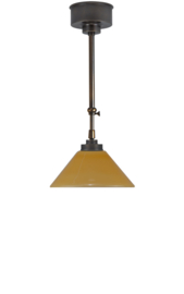 Schuifstang 2x25cm brons cognac dakkap 20 nr 1Sb-20.24