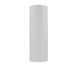 Glazen kap cilinder gekerfd motief d12,4cm h37cm 3pins mat opaal nr 1257.11