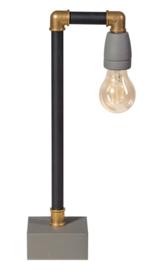Tafellamp GassedUp mat zwart E27 h40cm nr 05-TL3071-30