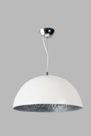 Hanglamp Mezzo Tondo wit/zilver dia 50cm nr 05-HL4171-3118