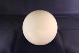 Glazen bol mat (wit) opaal dia 15cm voor kleine fitting met veer nr 1500.39G