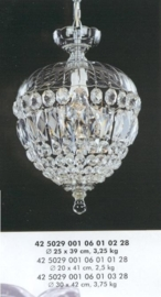 Boheems kristallen pegelbol small nr 42 5029 001 0601 01 28