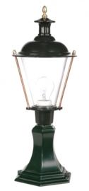 Buitenlamp sokkel met kap groen h53cm nr 1514