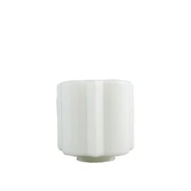 glazen bol model Flower opaal wit d-20cm h-18cm gr-11cm nr 487.00
