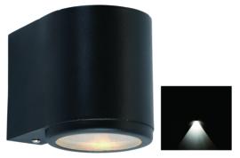 buitenspot gevelspot Mandal downlighter zwart GU10 nr 501374