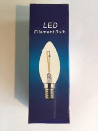 Global-Lux filament kaarslamp E14 1W15W 230V helder 2200k nr 6-183502